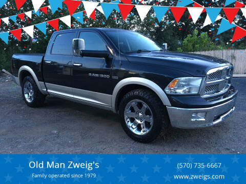 2011 RAM Ram Pickup 1500 for sale at Old Man Zweig's in Plymouth PA