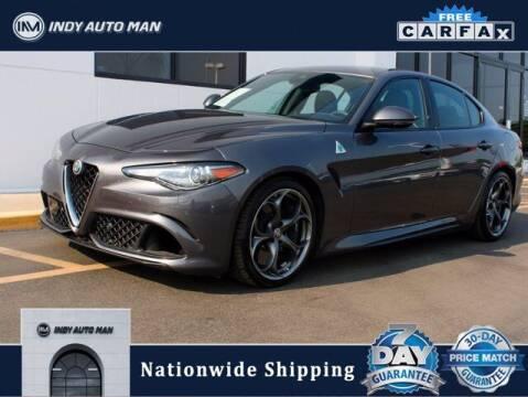 2017 Alfa Romeo Giulia Quadrifoglio for sale at INDY AUTO MAN in Indianapolis IN