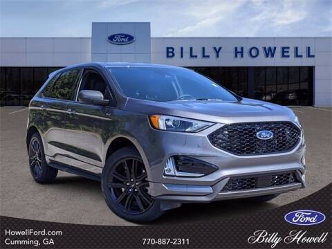 2021 Ford Edge for sale at BILLY HOWELL FORD LINCOLN in Cumming GA