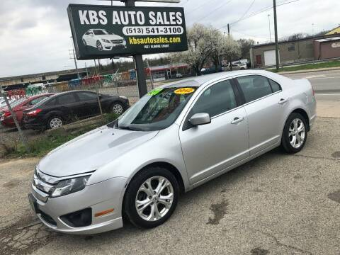 2012 Ford Fusion for sale at KBS Auto Sales in Cincinnati OH