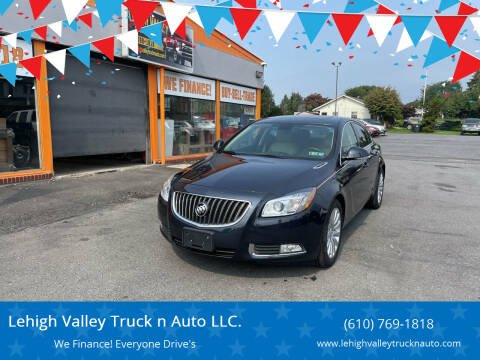 2013 Buick Regal for sale at Lehigh Valley Truck n Auto LLC. in Schnecksville PA