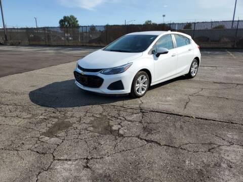 2019 Chevrolet Cruze for sale at MATTHEWS HARGREAVES CHEVROLET in Royal Oak MI