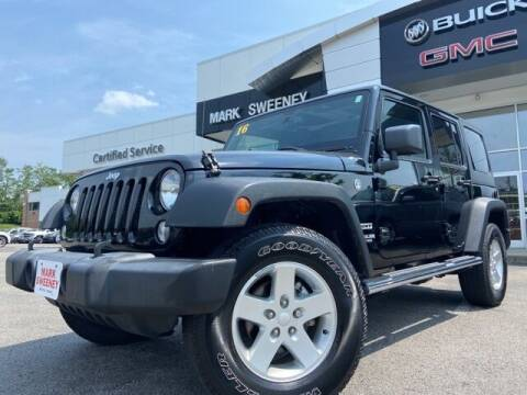 2016 Jeep Wrangler Unlimited for sale at Mark Sweeney Buick GMC in Cincinnati OH