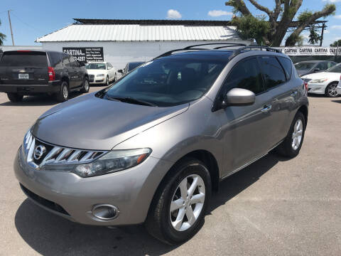 2009 Nissan Murano for sale at Cartina in Tampa FL