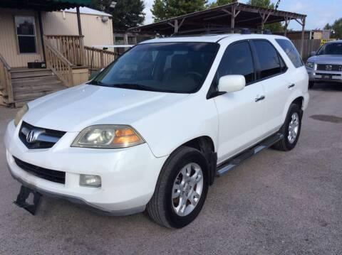 2005 Acura MDX for sale at OASIS PARK & SELL in Spring TX
