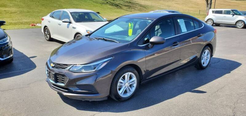 2016 Chevrolet Cruze for sale at Gallia Auto Sales in Bidwell OH