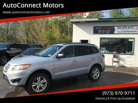 2010 Hyundai Santa Fe for sale at AutoConnect Motors in Kenvil NJ