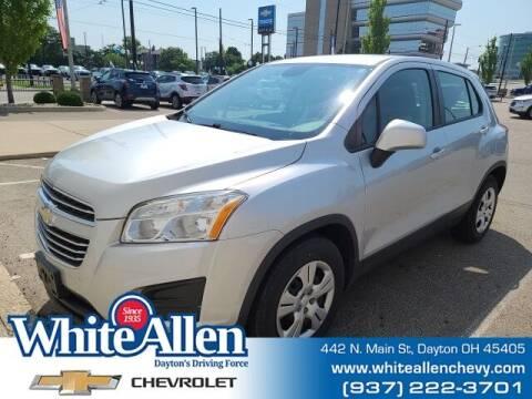 2015 Chevrolet Trax for sale at WHITE-ALLEN CHEVROLET in Dayton OH