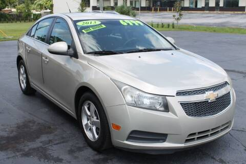 2013 Chevrolet Cruze for sale at Pasco Auto Mart in New Port Richey FL