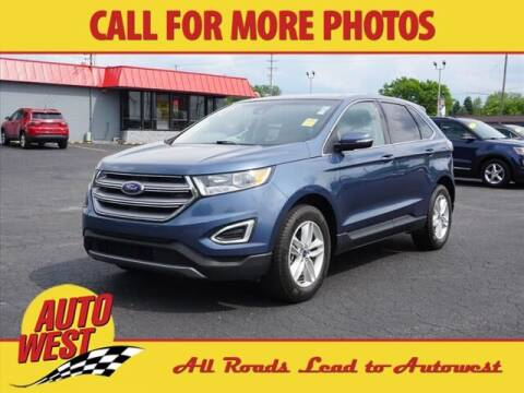2018 Ford Edge for sale at Autowest of Plainwell in Plainwell MI