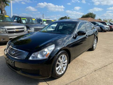 2009 Infiniti G37 Sedan for sale at CityWide Motors in Garland TX