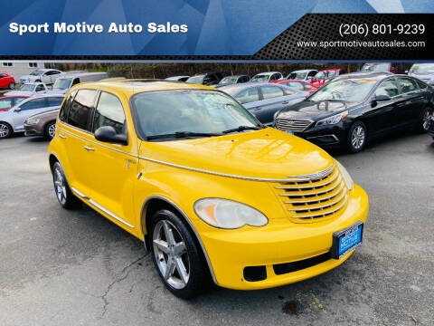 2006 Chrysler PT Cruiser for sale at Sport Motive Auto Sales in Seattle WA