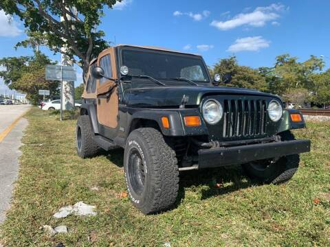 1997 Jeep Wrangler for sale at YID Auto Sales in Hollywood FL