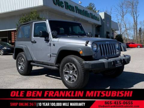 2014 Jeep Wrangler for sale at Ole Ben Franklin Mitsbishi in Oak Ridge TN