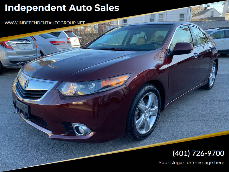 2012 Acura TSX for sale at Independent Auto Sales in Pawtucket RI