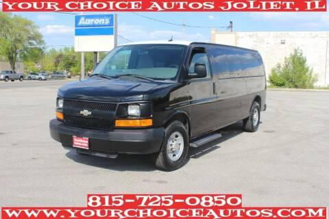 2012 Chevrolet Express Passenger for sale at Your Choice Autos - Joliet in Joliet IL