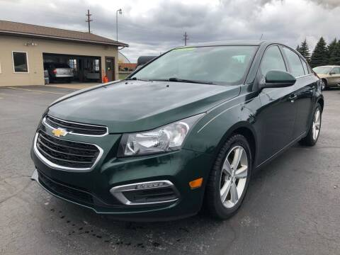 2015 Chevrolet Cruze for sale at Mike's Budget Auto Sales in Cadillac MI