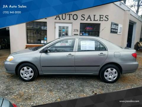 2004 Toyota Corolla for sale at JIA Auto Sales in Port Monmouth NJ