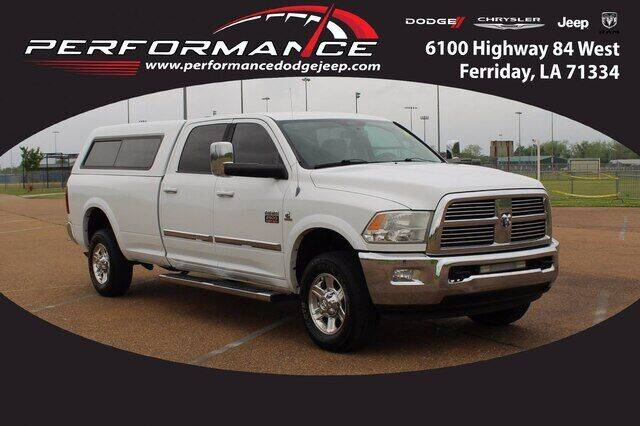 2010 Dodge Ram Pickup 2500 for sale at Performance Dodge Chrysler Jeep in Ferriday LA