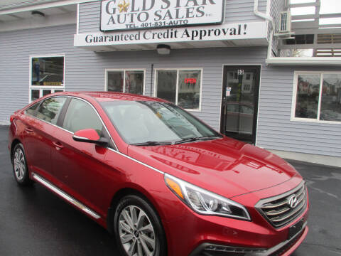 2015 Hyundai Sonata for sale at Gold Star Auto Sales in Johnston RI