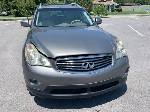 2008 Infiniti EX35 for sale at Consumer Auto Credit in Tampa FL