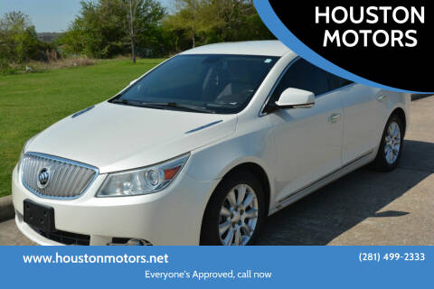 2012 Buick LaCrosse for sale at HOUSTON MOTORS in Stafford TX