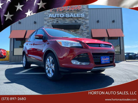 2013 Ford Escape for sale at HORTON AUTO SALES, LLC in Linn MO