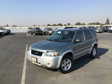 2007 Ford Escape Hybrid for sale at My Three Sons Auto Sales in Sacramento CA