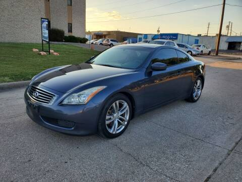 2008 Infiniti G37 for sale at DFW Autohaus in Dallas TX