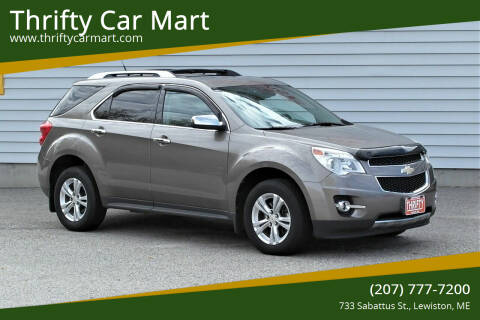2012 Chevrolet Equinox for sale at Thrifty Car Mart in Lewiston ME