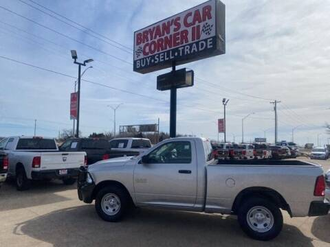2017 RAM Ram Pickup 1500 for sale at Bryans Car Corner in Chickasha OK