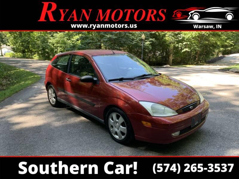 2001 Ford Focus for sale at Ryan Motors LLC in Warsaw IN