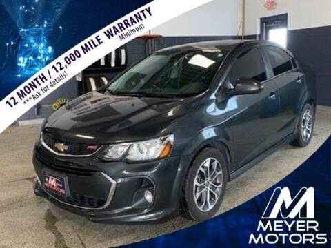 2017 Chevrolet Sonic for sale at Meyer Motors in Plymouth WI