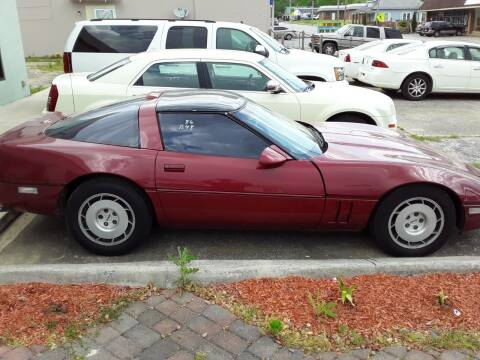 1986 Chevrolet Corvette for sale at CARS PLUS MORE LLC in Cowan TN