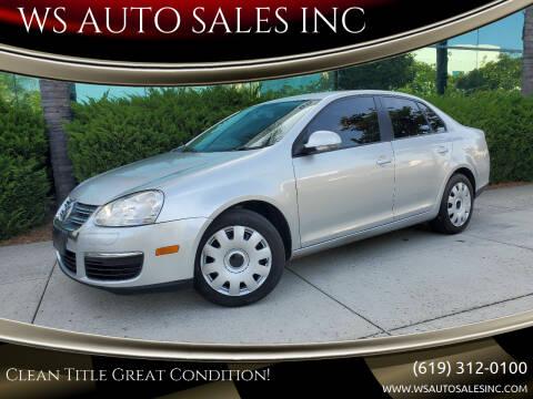 2010 Volkswagen Jetta for sale at WS AUTO SALES INC in El Cajon CA