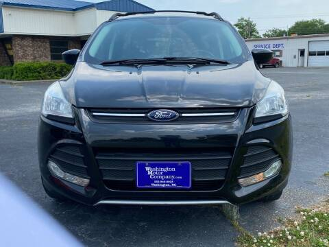 2015 Ford Escape for sale at DRIVEhereNOW.com in Greenville NC