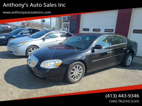 2011 Buick Lucerne for sale at Anthony's Auto Sales Inc in Pittsfield MA