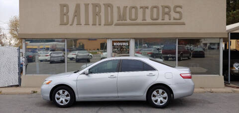 2009 Toyota Camry for sale at BAIRD MOTORS in Clearfield UT