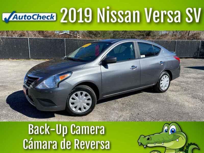 2019 Nissan Versa for sale at LIQUIDATORS in Houston TX