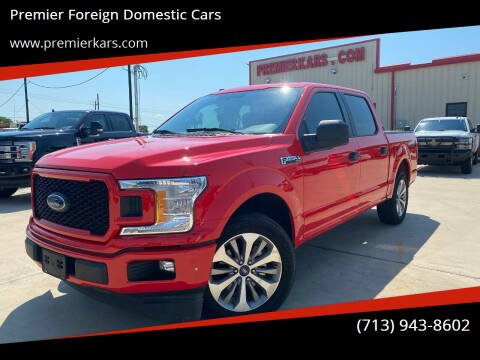 2018 Ford F-150 for sale at Premier Foreign Domestic Cars in Houston TX