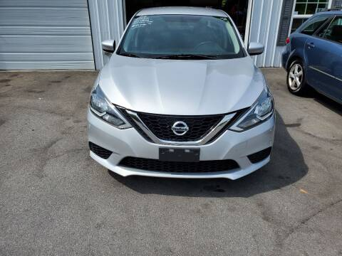 2016 Nissan Sentra for sale at DISCOUNT AUTO SALES in Johnson City TN