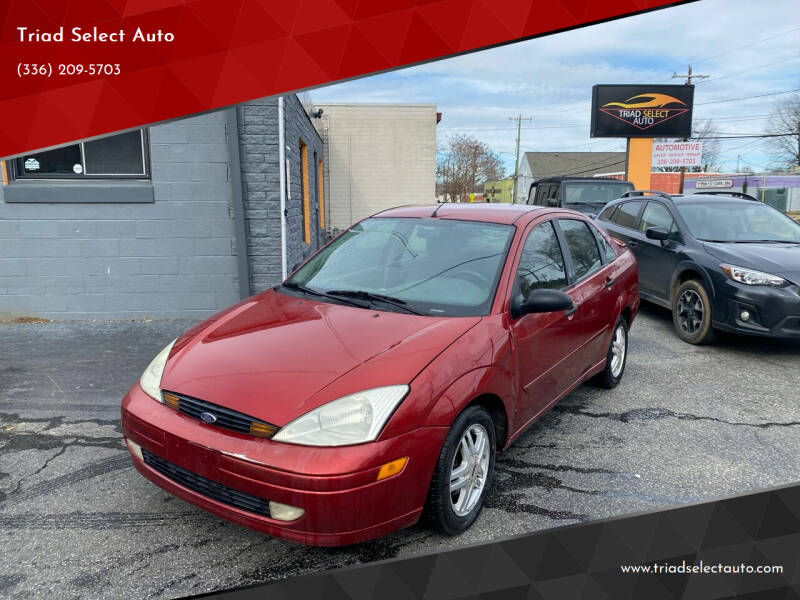 2001 Ford Focus for sale at Triad Select Auto in Greensboro NC