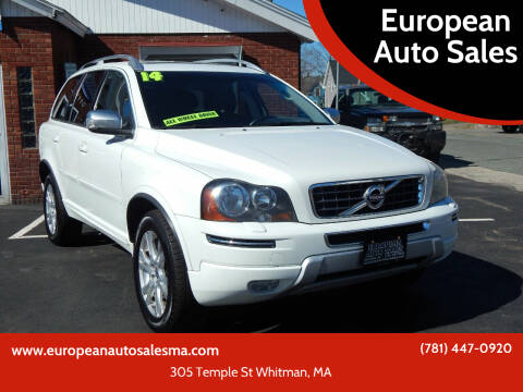 2014 Volvo XC90 for sale at European Auto Sales in Whitman MA