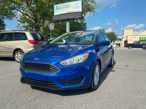 2018 Ford Focus for sale at All Star Auto Sales and Service LLC in Allentown PA