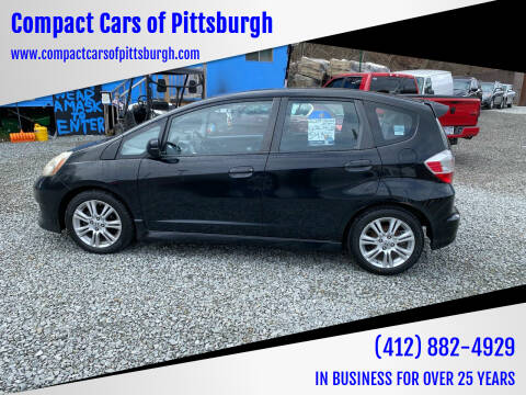 2009 Honda Fit for sale at Compact Cars of Pittsburgh in Pittsburgh PA