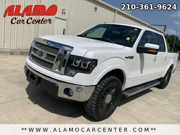 2012 Ford F-150 for sale at Alamo Car Center in San Antonio TX