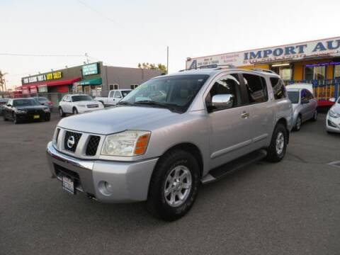 2004 Nissan Armada for sale at Import Auto World in Hayward CA