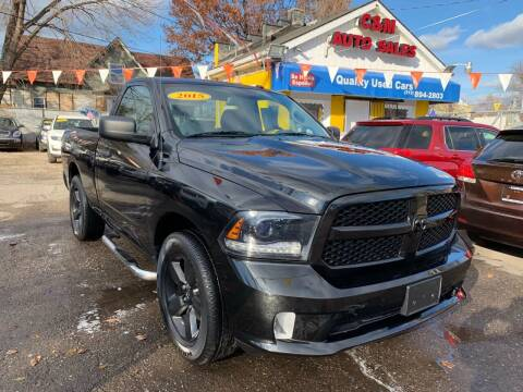 2015 RAM Ram Pickup 1500 for sale at C & M Auto Sales in Detroit MI