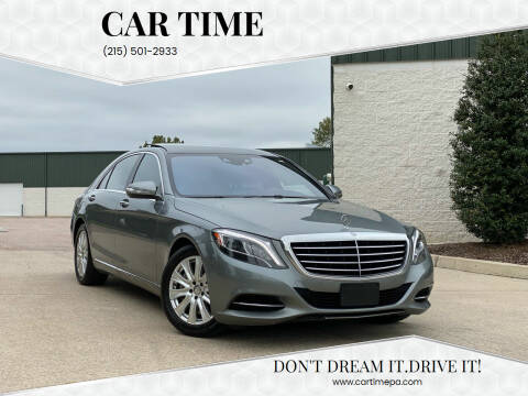 2015 Mercedes-Benz S-Class for sale at Car Time in Philadelphia PA