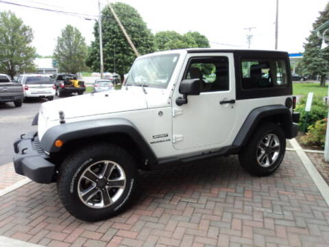 2011 Jeep Wrangler for sale at BATTENKILL MOTORS in Greenwich NY